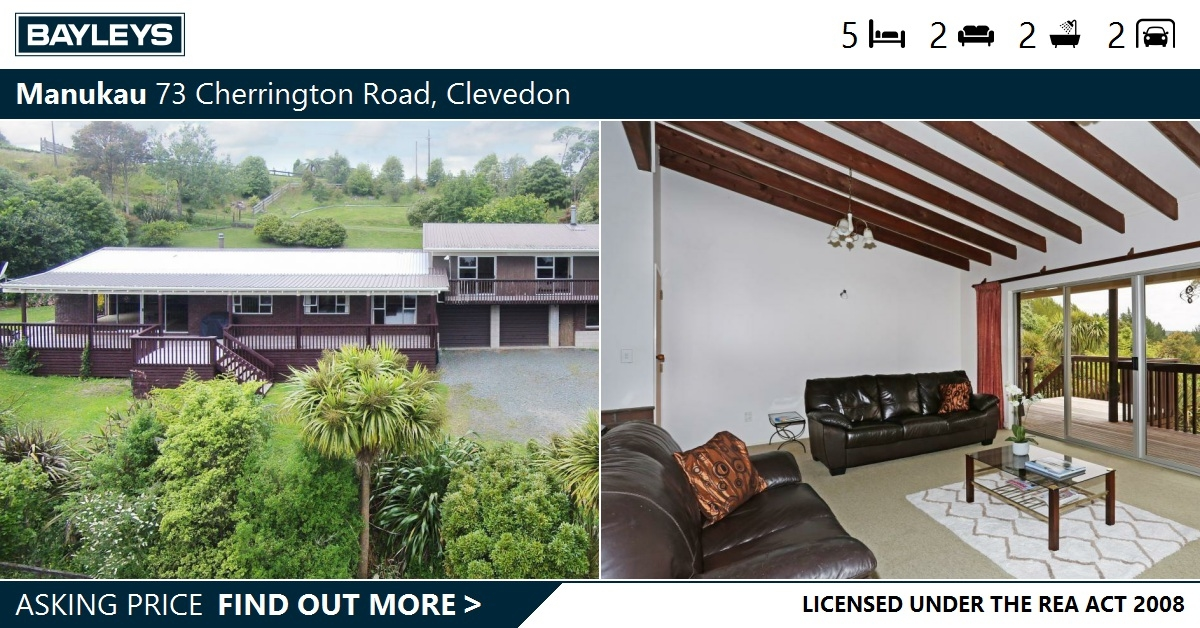 Privacy Position And Priced To Sell 73 Cherrington Road Clevedon