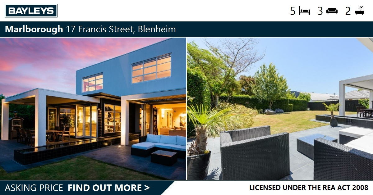 Executive Central Living At Its Best 17 Francis Street Blenheim