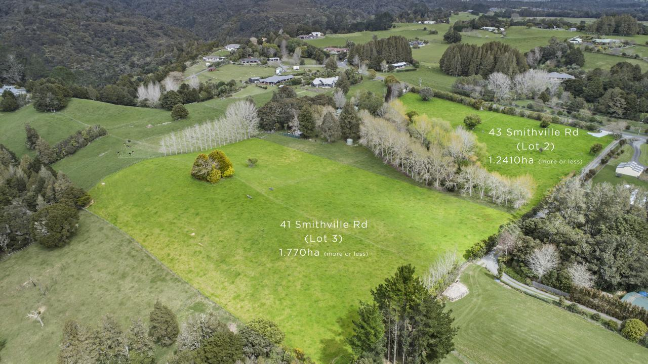 41 and 43 Smithville Road, Kamo