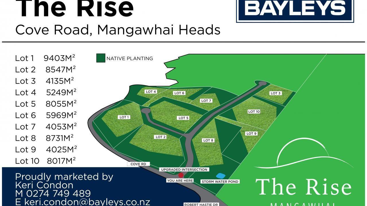 Lot 3 The Rise, Cove Road, Mangawhai