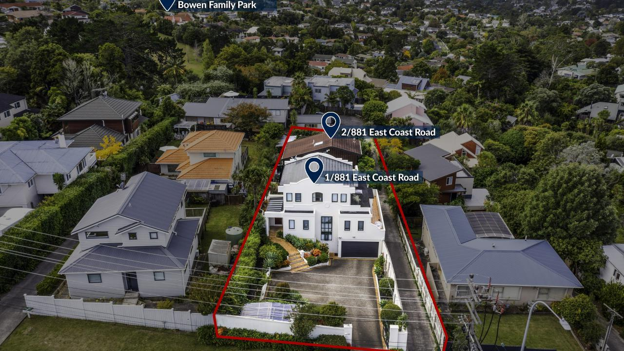 1 and 2/881 East Coast Road, Northcross