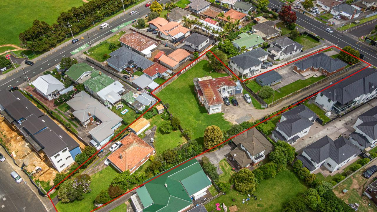 492, 494 Richardson Rd and 2 Marion Ave, Mt Roskill