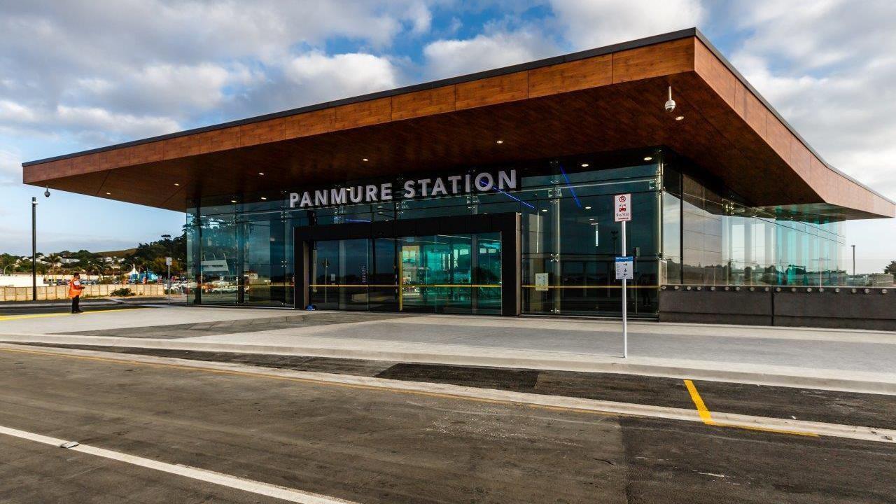 Auckland Transport Kiosk, Panmure