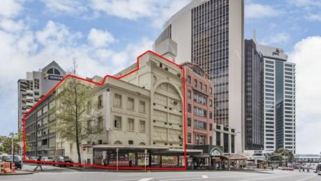 13,15 Albert Street and 9 Wolfe Street, Auckland Central