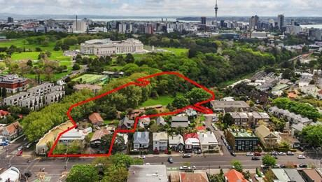 1 Domain Dr, 491, 501 and 509 Parnell Rd, Parnell