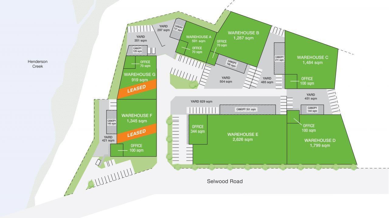 Unit B/ The Concourse Industrial Park, Henderson