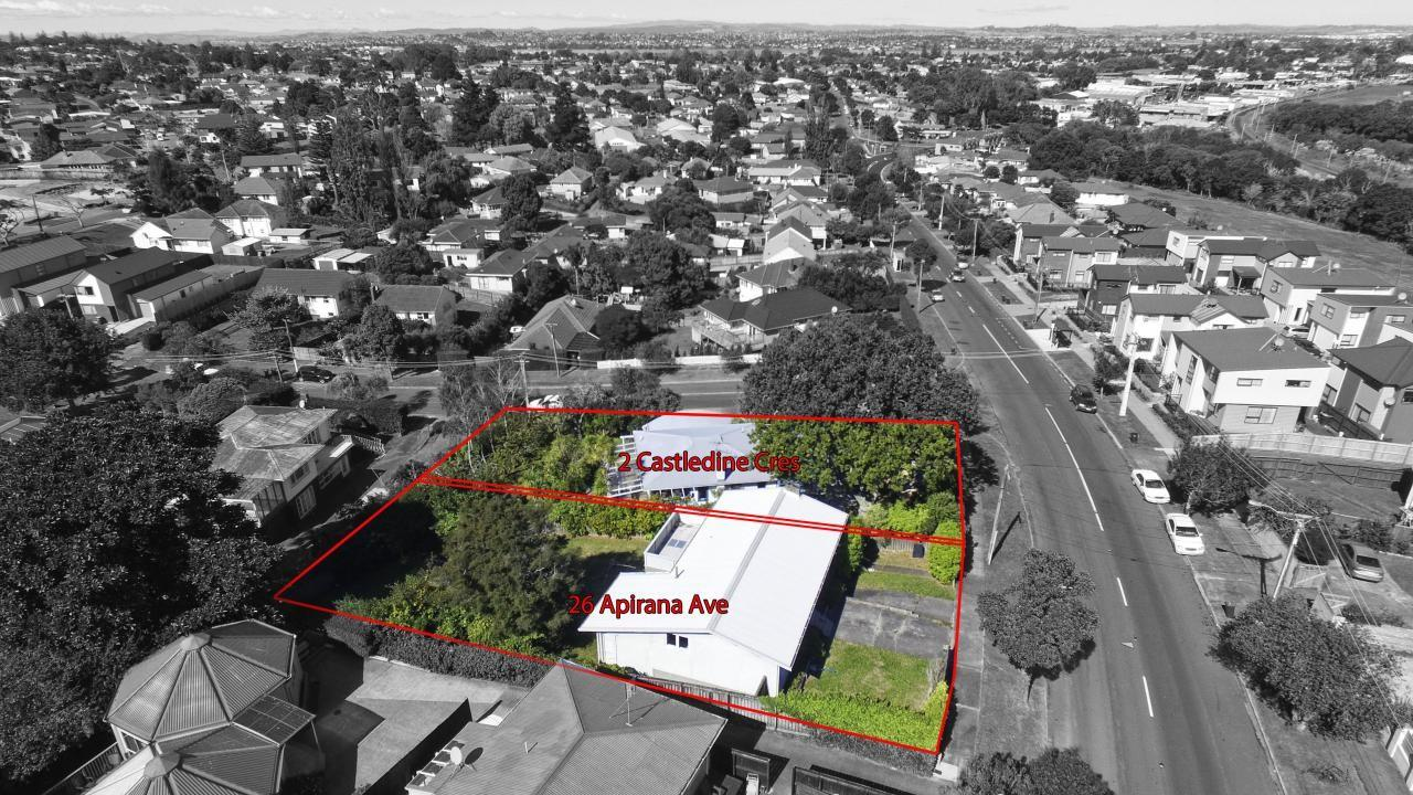 26 Apirana Avenue and 2 Castledine Crescent, Glen Innes