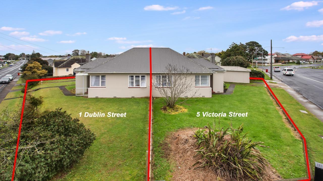 1 Dublin Street and 5 Victoria Street, Pukekohe