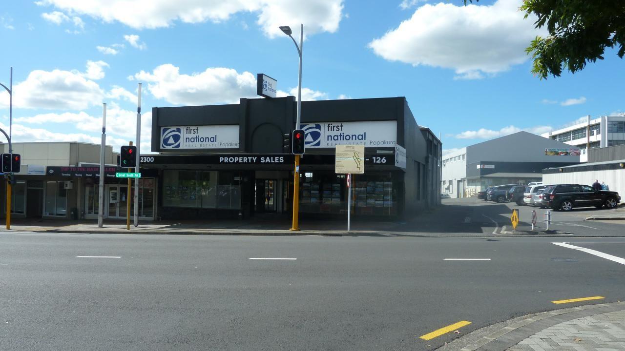 124-126 Great South Road, Papakura