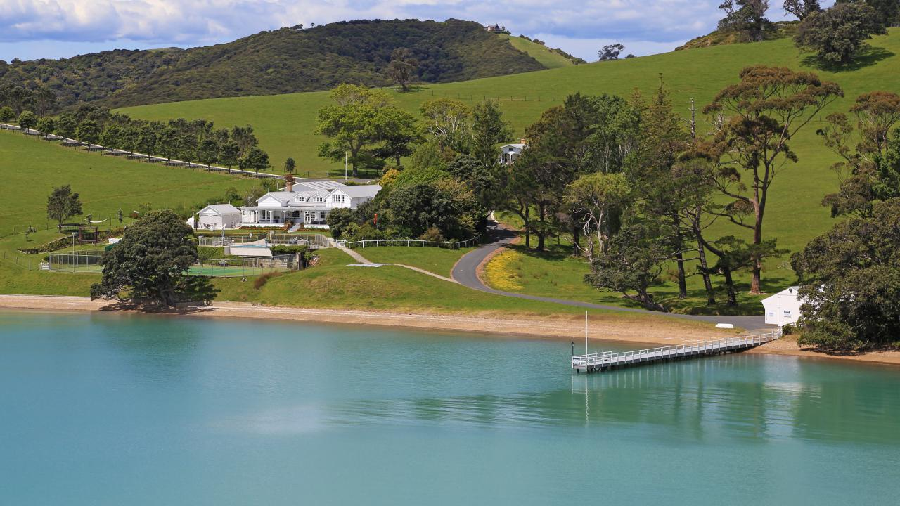 Farm / Ranch / Plantation for Sale at ONE OF WAIHEKES FINEST WATERFRONT ESTATES Waiheke Island, New Zealand