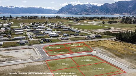 Lots 1-4, 6, 8 Lost Burn Road, Lake Hawea