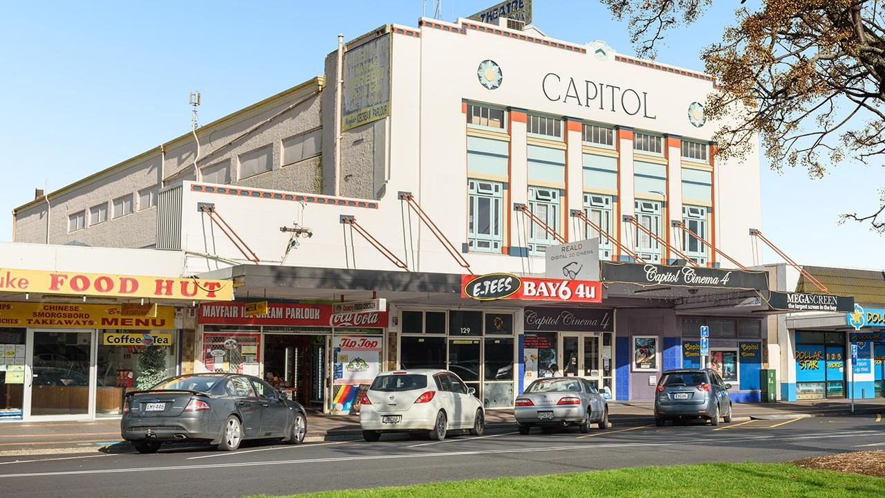 Capitol Cinema 4 complex, 127-133 Jellicoe Street, Te Puke