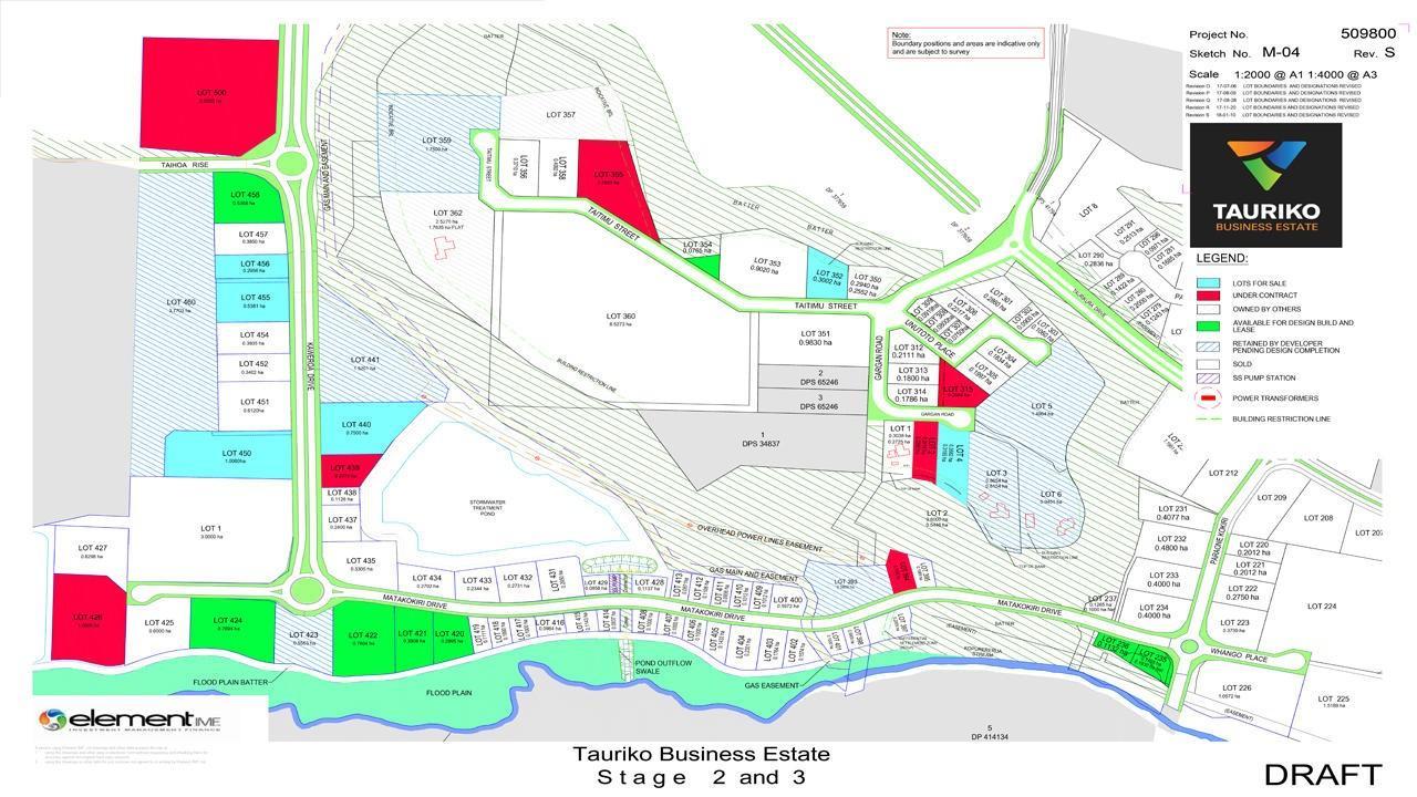 Lot 460, Tauriko Business Estate
