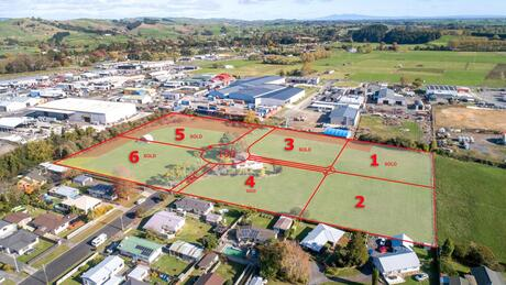 Lots 1 - 6 Keith Camp Place , Morrinsville