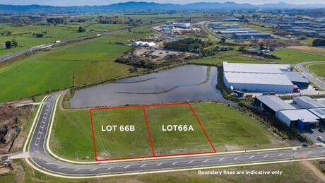 Lot A & B 66 Hounsell Road , Te Rapa