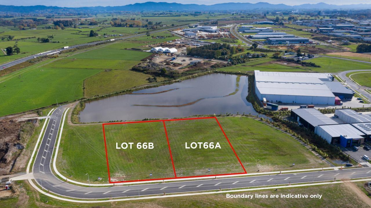 Lot A & B 66 Hounsell Road , Te Rapa