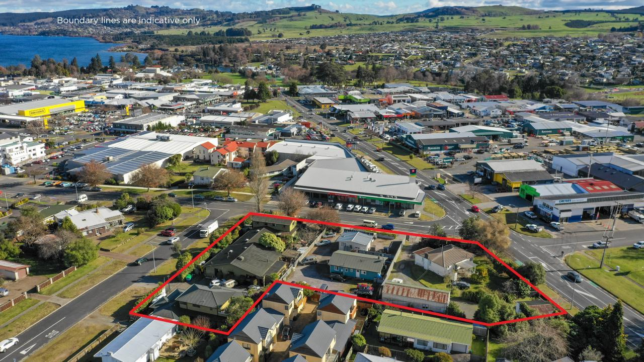 Spa Road, Titiraupenga and Scannell Streets, Taupo