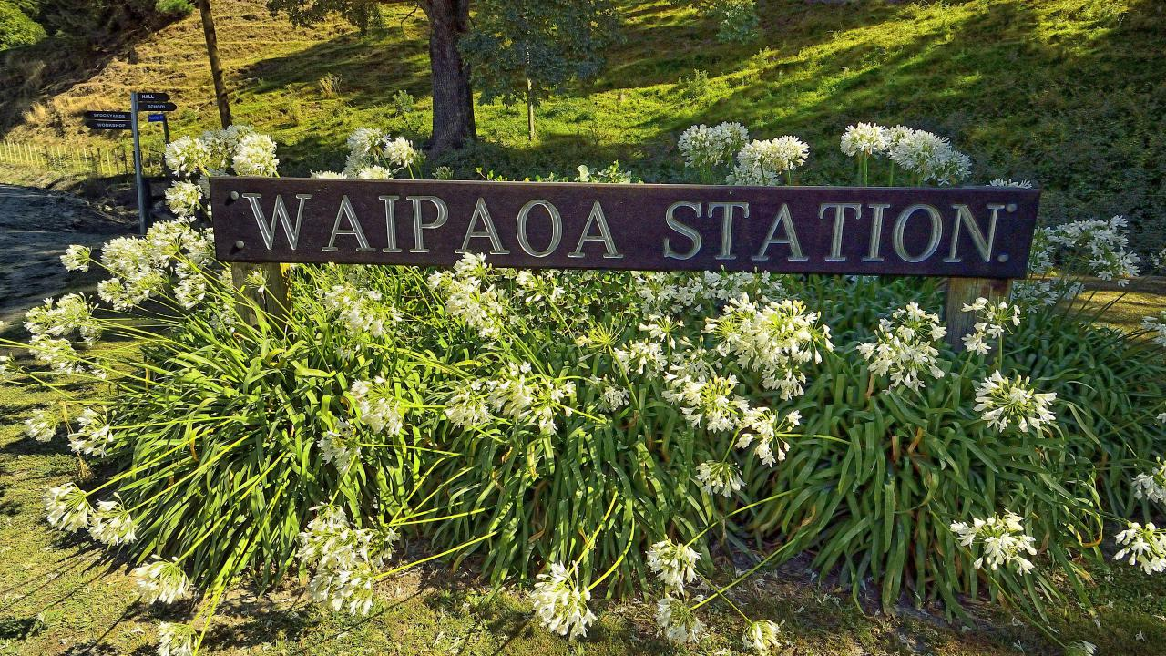 Farm / Ranch / Plantation for Sale at Waipaoa Station - A Pastoral Icon New Zealand