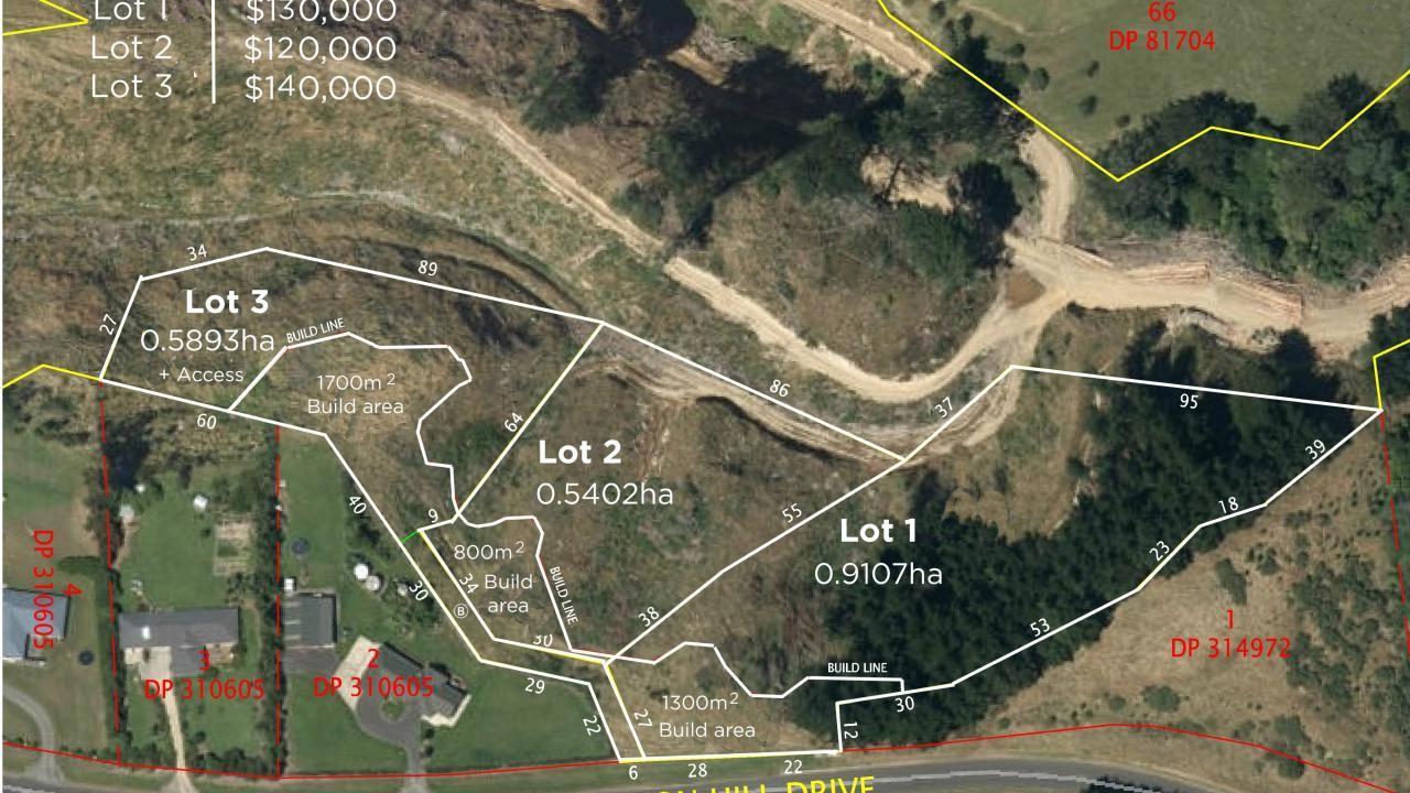 Lot 40, 42 ,44  Polson Hill Drive, Aokautere