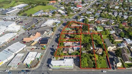 4-16 Kapiti Road, 25 and 29 Amohia Street and 4 Waimarie Avenue, Paraparaumu