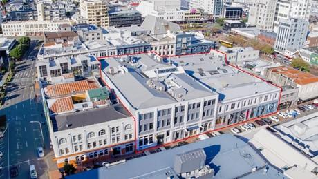 7-23 Allen Street and 10-24 Blair Street, Te Aro
