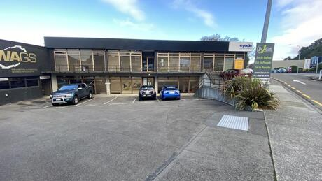 Ground office, 498 Hutt Road, Lower Hutt