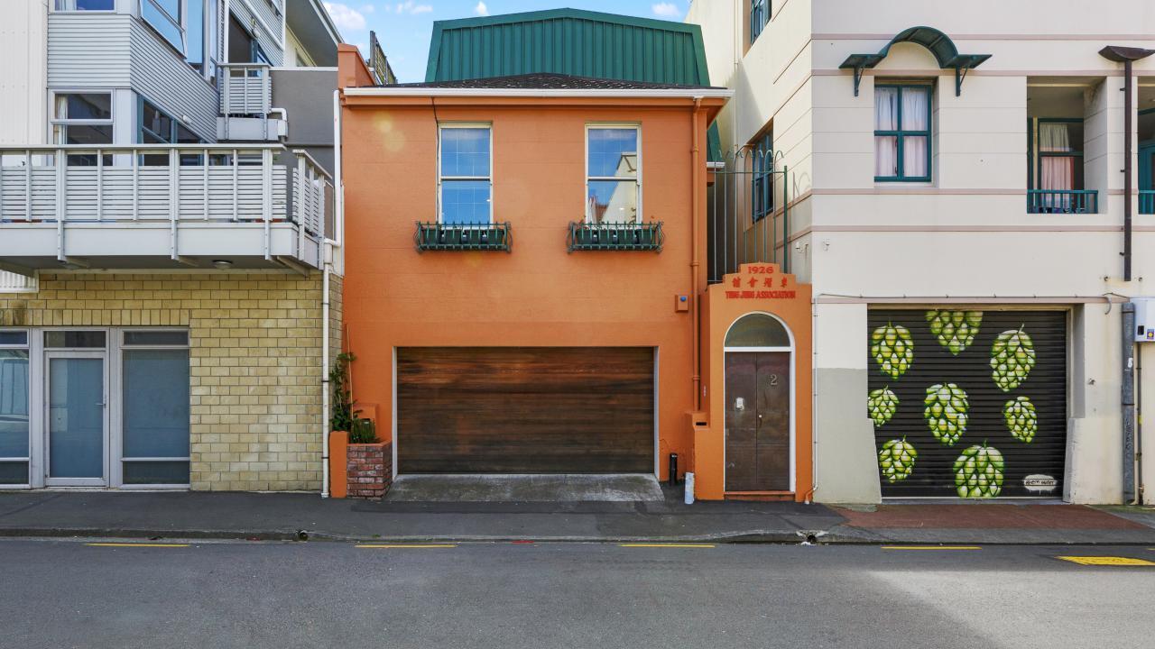 2 Frederick Street, Te Aro