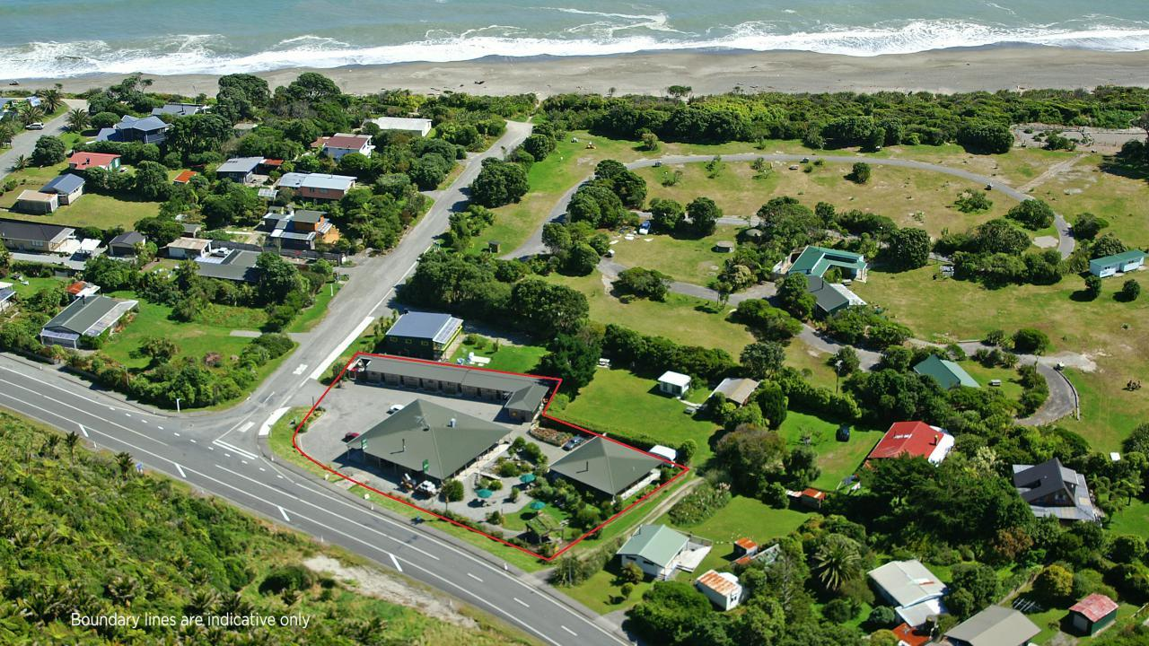 State Highway and Owen Street, Punakaiki