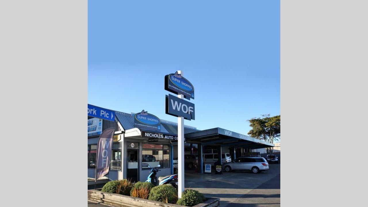 Automotive workshop business, Richmond
