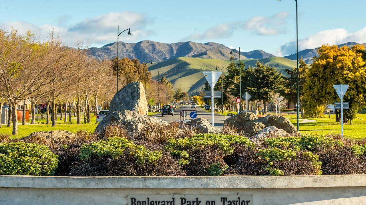 Boulevard Park on Taylor , Blenheim
