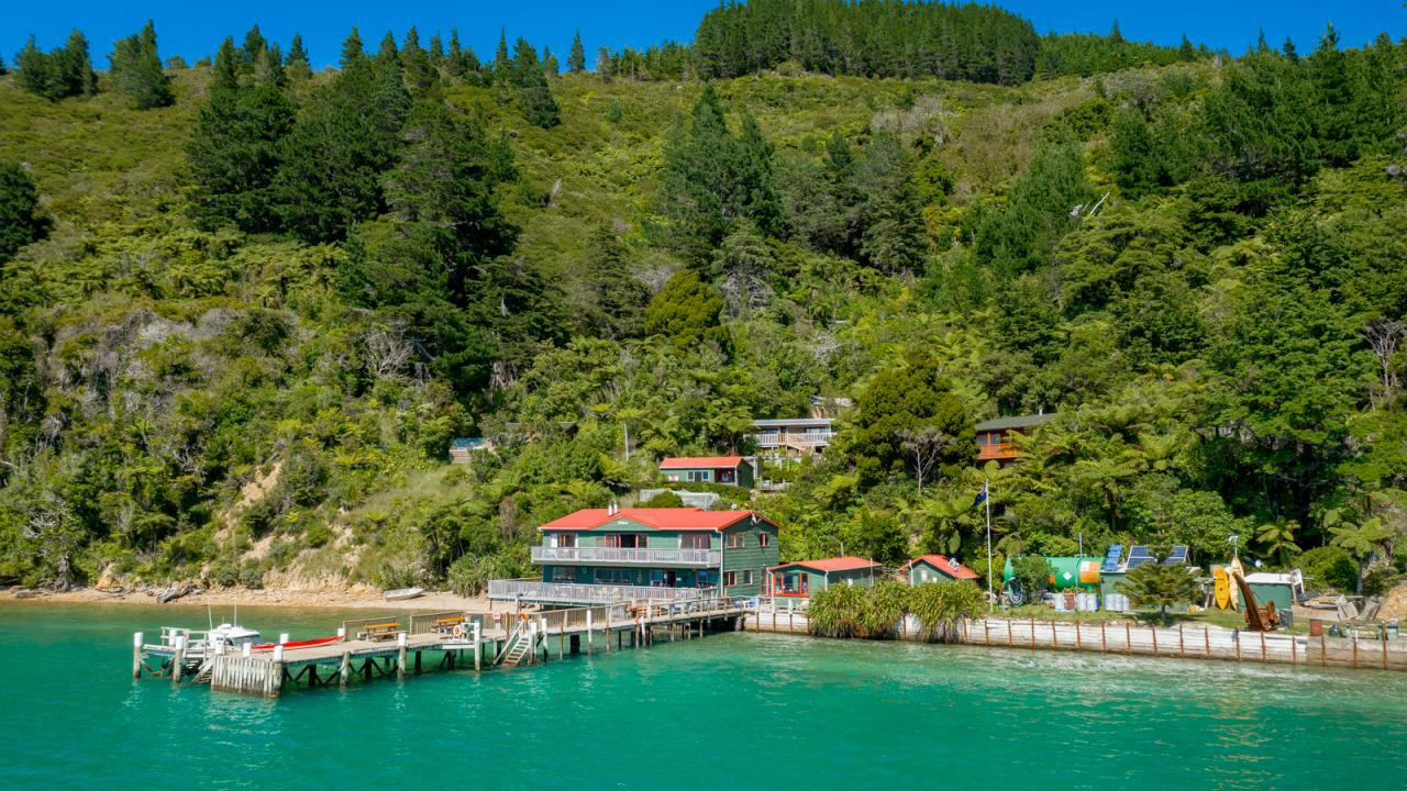 The Lodge at Te Rawa, Pelorus Sounds