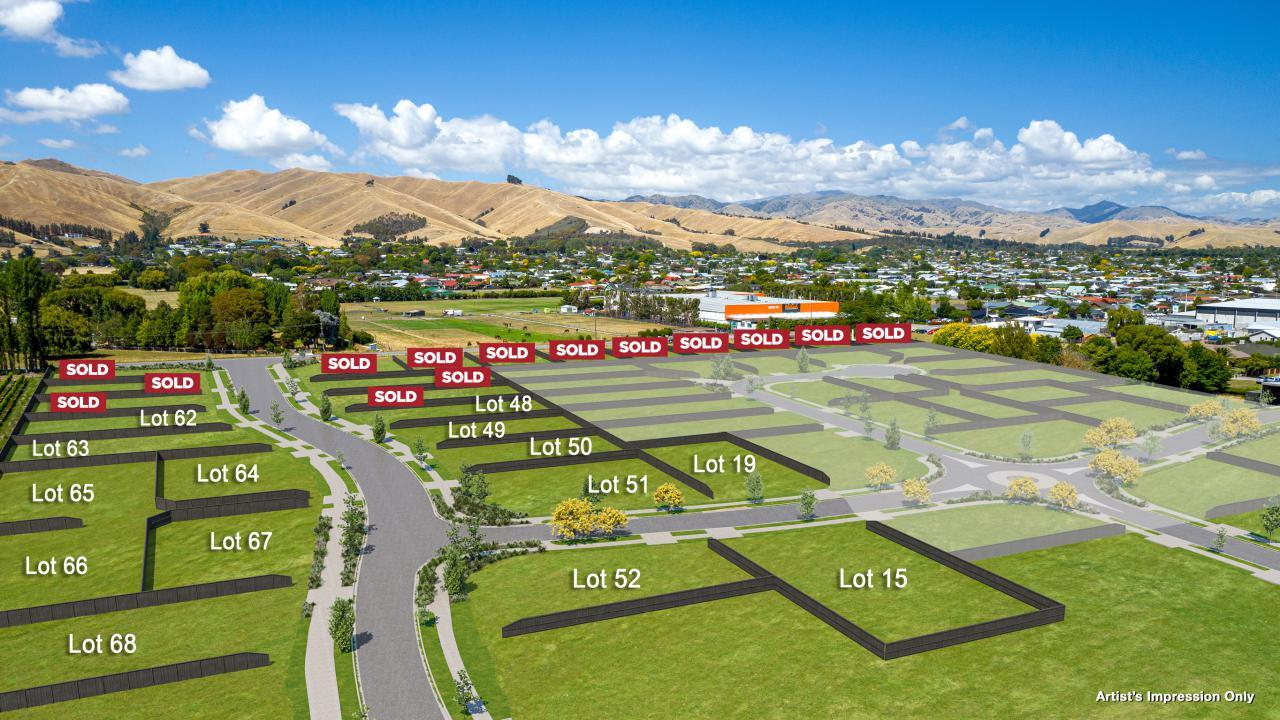 Lot 52 Stage 1B-2 Wai Iti, Blenheim