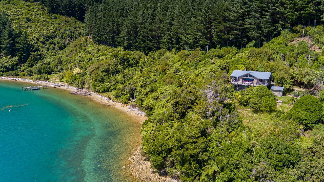 Yncyca Bay, Pelorus Sounds