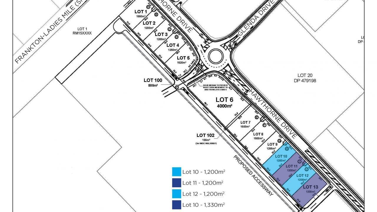 Lot 10 - 13  Hawthorne Drive, Frankton