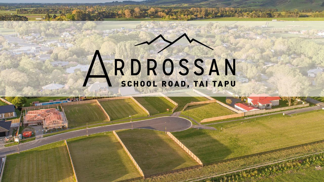 Ardrossan Stage 3, School Road, Tai Tapu