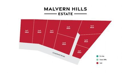 Malvern Hills Estate Subdivision, Coaltrack Road, Coalgate