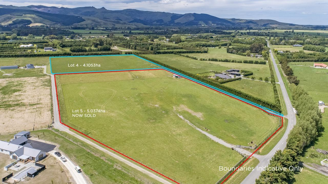 Lot 4 Barnes Road, Tai Tapu