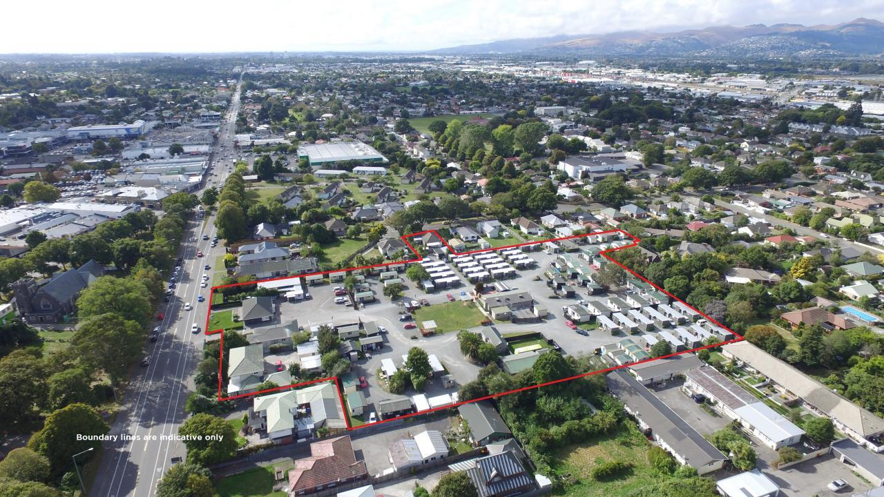 15 - 21 Main South Road and 29 Ballantyne Avenue, Upper Riccarton