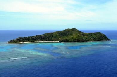 Narara island, Fiji